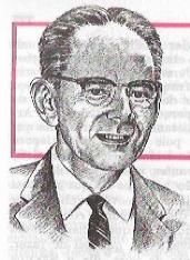 Desenho do busto de Harold King
